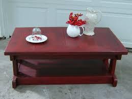 distressed black end table distressed red coffee table writehookstudio com