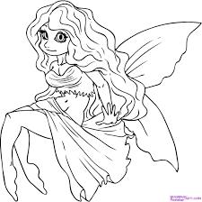 how to draw a cartoon fairy step by step fairies fantasy free
