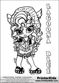 monster high chibi coloring pages this printable colouring sheet show a cute baby or chibi version of