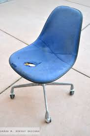 sarah m dorsey designs eames chairs finished finally for now