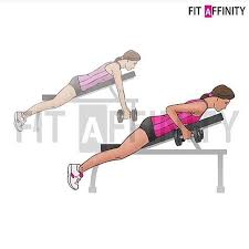 Cross Bench Dumbbell Pullovers 48 Best Back U2022 Workouts Images On Pinterest Back Workouts
