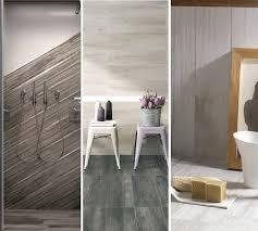 Rustic Tile Bathroom - nice wood look tile bathroom and give your bathroom a rustic