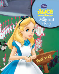 disney u0027s alice in wonderland disney padded story parragon books