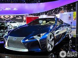 lexus lf lc sound motor show 2013 lexus lf lc concept