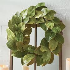 magnolia leaf wreath magnolia leaf indoor outdoor wreath