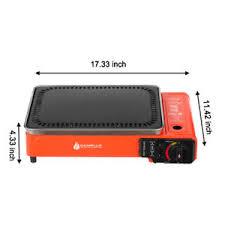 portable table top butane stove bbq stove portable butane cing table top gas grill 8000btu ebay