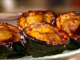 sweet roasted acorn squash recipe food network