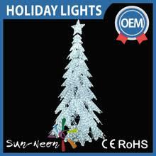 white outdoor lighted christmas trees zhongshan sun neon lighting factory led christmas light led motif