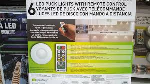 led puck lights costco capstone led puck lights 6 pack costco weekender home oct 2015