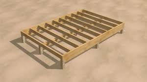 how to frame a floor how to build a shed 9 steps with pictures wikihow
