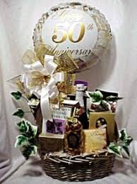50th anniversary gift 50th wedding anniversary gift baskets tbrb info