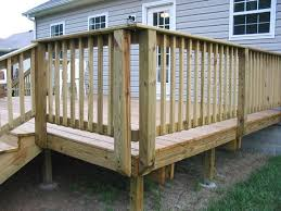 Outside Banister Railings How To Build Exterior Stairs Decking Exterior Stairs And Porch