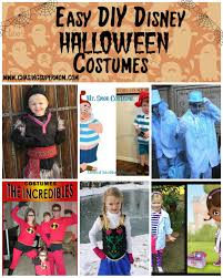 Disney Halloween Costumes For Family by Diy Disney Halloween Costume Round Up U2013 Easy Diy Disney Halloween