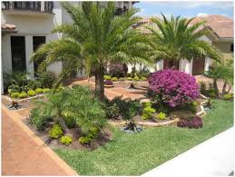 Florida Landscape Ideas by Backyards Excellent Florida Tropical Landscaping Ideas Front
