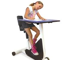 Desk Pedal Bicycle Style Desks Keep Fidgety Kids Focused Montreal Families
