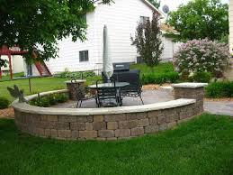 Small Brick Patio Ideas Small Brick Patio Off Deck Area Brick Paver Patio And Sitting