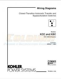 industrial engines transfer switches wiring diagram manuals