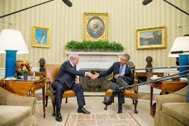 bureau president americain dans le bureau ovale obama et nétanyahou jouent l apaisement