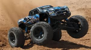 traxxas monster jam trucks 1 6 x maxx 4wd monster truck tqi brushless rtr with tsm blue