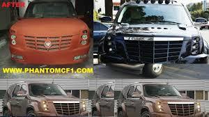 Custom Cadillac Escalade Interior Escalade 2007 2014 Phantom Custom Lights Euro Bolt On