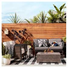 Wood Patio Furniture Sets Bryant 2pk Faux Wood Patio Club Chair Set Project 62 Target