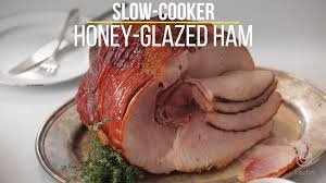 how to cook thanksgiving ham how to make honey glazed ham in the slow cooker kitchn