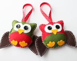 felt plush ornaments santa claus snowman gingerbread