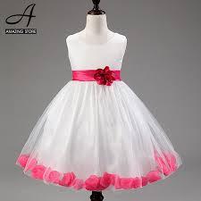 aliexpress com buy purple red wedding dresses for little