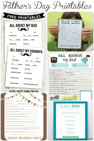 father u0027s day printable round up
