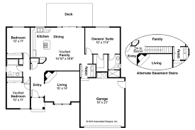 free house plans with basements u shaped ranch house plans traditionz us beautiful home plan with