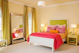 Pink And Green Kids Room by Neon Green Kids Room Headboard Design Ideas