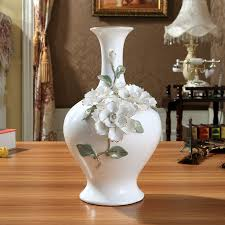 floor vases home decor ceramic chinese white modern flowers vase home decor large floor