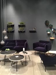 18 interiors trends for 2017 3 velvet seating is experiencing a big comeback i saw examples of this all over the fair sometimes using just a chair as an accent other times an entire