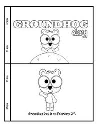 groundhog mini shadow unit kindergarten ground hog