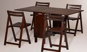 Wooden Folding Dining Table Nice Folding Dining Room Chairs With Vintage 68 Wood Folding