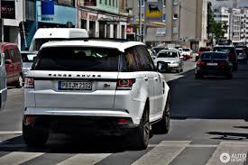 range rover sport 2017 land rover range rover sport svr 13 sausio 2017 autogespot