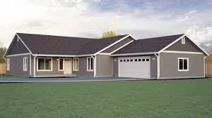 Rambler House by Baniff Bay Home Plan True Built Home Pacific Northwest Custom