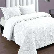 White Ruffled Comforter White Twin Quilts U2013 Boltonphoenixtheatre Com
