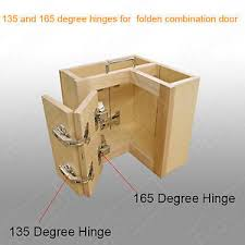 Corner Cabinet Hinge EBay - Bifold kitchen cabinet doors