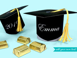 graduation boxes make a graduation cap favor and candy box printable kit