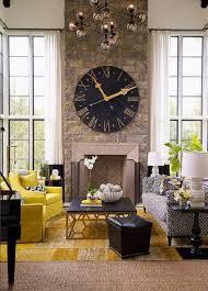 kreative wohnideen wohnzimmer mit gelbem farbtupfer kreative wohnideen interior