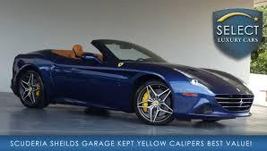Ferrari California Colors - used 2016 ferrari california t marietta ga