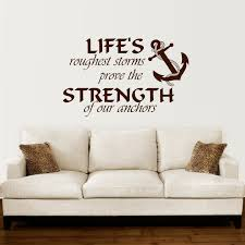 Bedroom Sayings Wall Anchor Wall Decal Quotes Nautical Sayings Wall Vinyl Sticker
