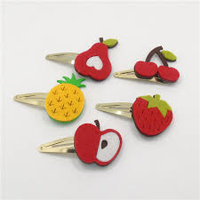 felt hair accessories felt hair fruit shappe bb hair trendy headdress
