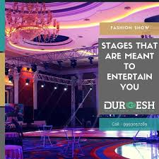 advanced lighting and sound we decorate amazing stages equipped with advanced lights and sound