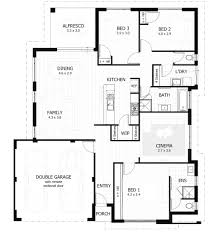 3 bedroom house plans with photos 3881 designs south africa