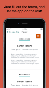 Pocket Resume   The Original CV Builder on the App Store iTunes   Apple