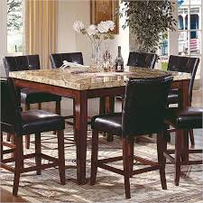 Enchanting Granite Dining Room Table And Chairs  In Chairs For - Granite dining room sets