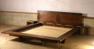 amazing build platform bed with how to make a platform bed frame