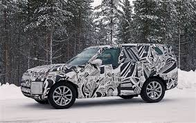 new land rover defender spy shots 2018 land rover discovery spyshots reveal new design autoevolution